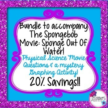 Bundle to accompany The Spongebob Movie(2014)! Great for t
