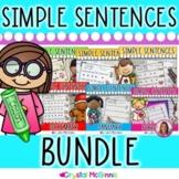 BUNDLE Simple Predictable Sentences for Beginning Readers