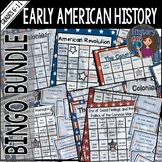 Early American History Bingo Bundle
