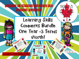 Bundle:Learning Skill Comments for  ALL THREE TERMS of Ontario Report Cards