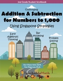 Bundle - Addition Subtract to 1000 - Morning Work using Si