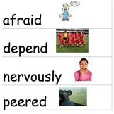 Wonders McGraw-Hill 2nd Grade Vocabulary Cards Unit 1-6
