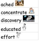Wonders McGraw-Hill 3rd Grade Vocabulary Cards Unit 1-6