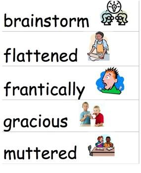 Wonders McGraw-Hill 4th Grade Vocabulary Cards Unit 1-6