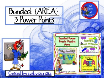 {AREA } Bundled:  3 AREA  Interactive Power Points- a 20% savings {revised 2016}
