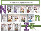 Bundled Alphabet Wheels N-Z
