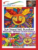 Bundled Art Projects - K-8th Three Lessons