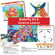 Bundled Butterfly & Caterpillar Art & Science Lesson With Life Cycle Worksheet
