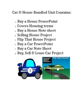 Buy a Car & House Bundled Unit