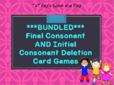 Bundled Card Game: Consonant Deletions