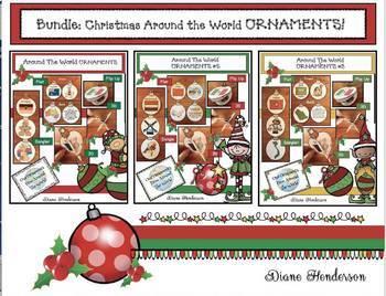 "Bundled: ""Christmas Around the World ORNAMENTS"""