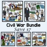 Bundled Civil War Clip Art