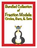 Bundled Collection of Fraction Models: Circles, Bars, & Sets