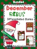 Bundled December REBUS Stories {Differentiated}
