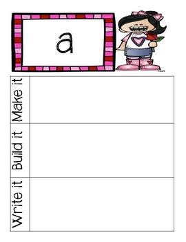 Bundled Dolch Sight Words: Make it, build it, write it (Valentines)