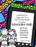 Engage NY 3rd Grade Bundled Math Modules 1-7 Notebook: No Prep, Skill Builder
