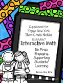 Engage NY 3rd Grade Bundled Math Modules 1-7 Notebook: No