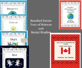 Bundled Entire Year of Grade 6 Science and Social Studies - Growing Unit