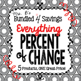 Bundled 4 Savings:  Everything Percent of Change