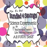 Bundled For Savings - Science Experiments for the Teacher That Doesn't Like...