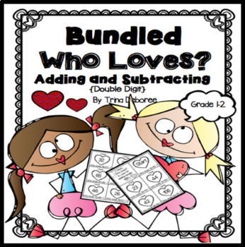 Bundled I Have...Who Loves? Adding and Subtracting {A Math Game}