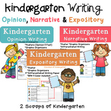 Bundled Kindergarten Narrative, Expository & Opinion Writing (Common Core)