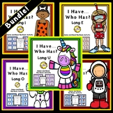 Bundled LONG Vowels: Read the Room and I Have, Who Has Activities