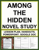 Among the Hidden Novel Study Bundled Lesson Plans & Studen