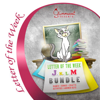 Bundled Letter of the Week Packet, J through M
