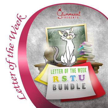 Bundled Letter of the Week Packet, R through U