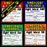 Bundled Math Emergent Readers (Sight Words: In, Am, See, Are)