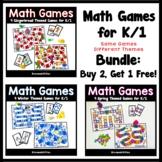 Bundled Math Games for K/1