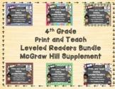 McGraw Hill Wonders 4th Grade Bundled Units 1-6 Print and