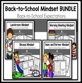 Bundled Mindset Readers for Back-to-School Expectations
