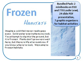 Bundled Minibooks and PDF Presentation Frozen Arctic and T