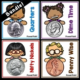 Bundle: Money PowerPoints and Coin History