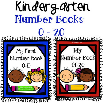 Bundled My First Number Books 0-20