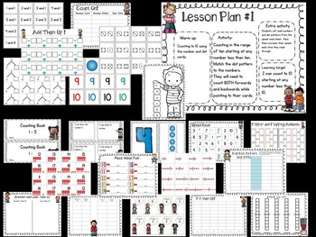 Bundled Number Sense and Math Intervention w/Lesson Plans