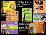 Bundled October Math Number Sense Activities