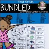 Bundled Phonics Literacy Center Activities