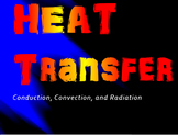Bundled Physics 6.2 Heat Transfer PowerPoint and Guided Notes
