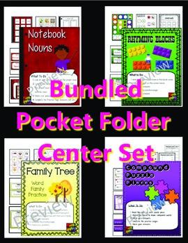 Bundled Pocket Folder Center Set (S.Malek)