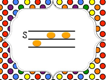 Bundled Polka Dot Solfege PDF: So-Mi and So-Mi-La Cards