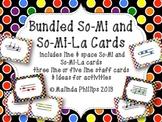 Bundled Polka Dot Solfege PDF: So-Mi and So-Mi-La Cards