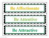 Bundled Positive Character Traits