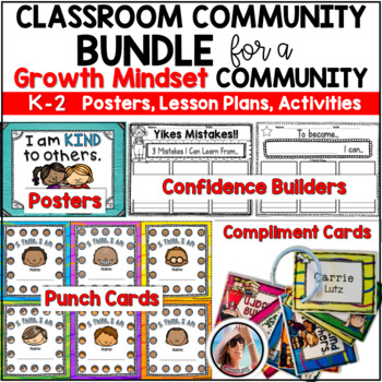 Bundled Promoting Positive Little People for a Positive Classroom Community