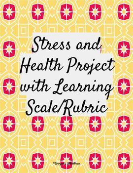 Bundled Psychology Projects for Stress Unit