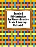 Bundled- RTI Curriculum for Phonics Practice Grade 2 Journ