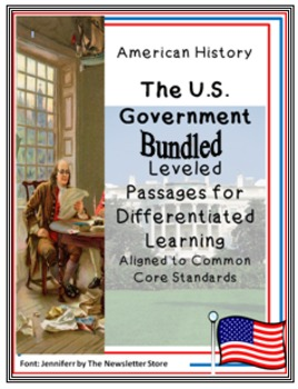 Bundled Rdg Passages for Differentiated Learning: The U.S.