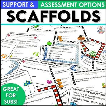 Figurative Language Seasonal Task Card Bundle